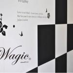【Wagic®】魔法のようなシール壁紙で、カンタン模様替え♪