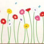 壁デコシールで春を先取り!おうちの中がパッと華やぐお花のステッカー