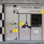 事務所や店舗にも♪シール壁紙・ウォールステッカーの簡単DIYでリフレッシュ