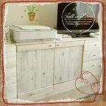 家具リメイク!シール壁紙を使って古い家具を自分で簡単にアレンジ♪