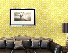 本物のようなリアルな質感のエレガントなダマスク柄壁紙が簡単に自分でDIYできる「プレミアムウォールデコシート」