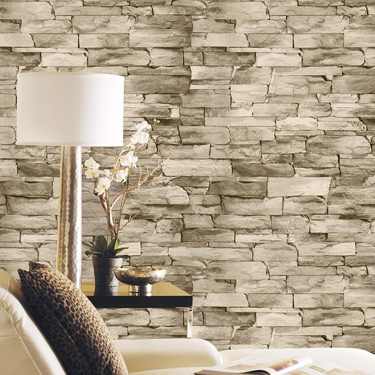本物のようなリアルな質感の「ブリックタイルやレンガ柄の壁紙」が、簡単に自分でDIYできる「プレミアムウォールデコシート」