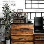 人気ブロガー家具を手作りリメイク♪生のり付き壁紙を壁以外にも