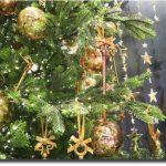 クリスマスDIYリンクコーデ&風水♪緑の壁紙に模様替え